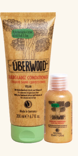 2 Flacons of ÜBERWOOD®Color Shine Conditioner